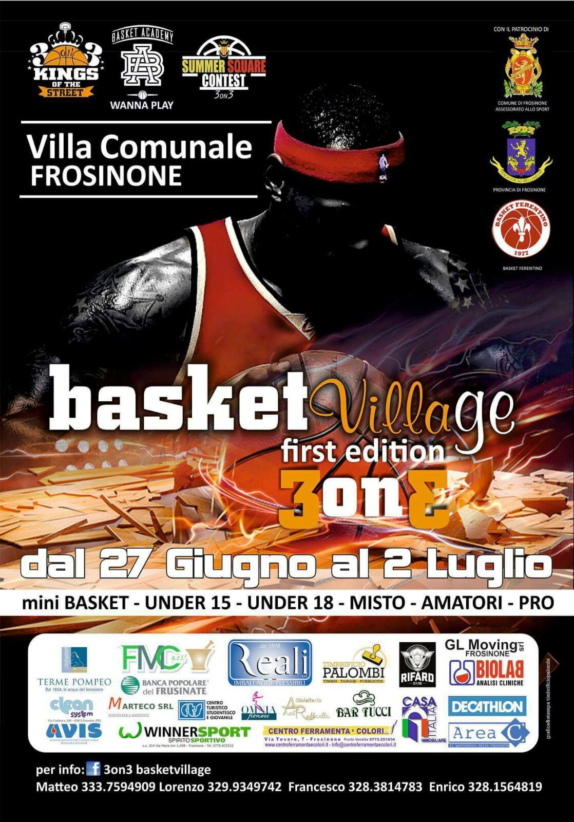TORNEO BASKET VILLAGE